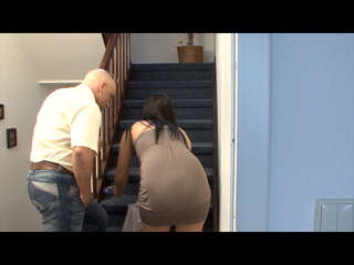 Neighbor fucked in the STAIRWAY