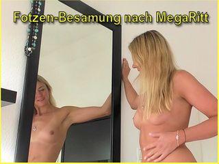 Fotzen-Besamung nach MegaRitt