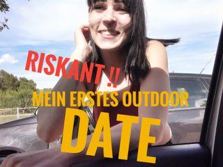Riskant!!! mein erstes  Outdoor-Date mit Tim!