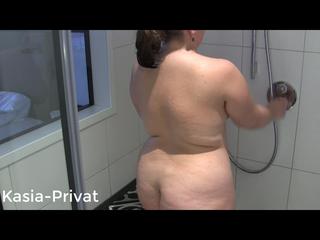 Heiße Dusche im Hotel