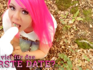User date in the park