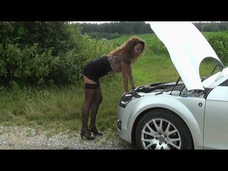 Autopanne- Für Hilfe gibt's nen Fick!