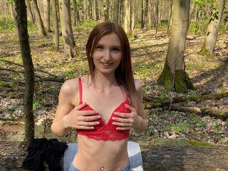 Endlich wieder Outdoor...Public im Wald gefickt!