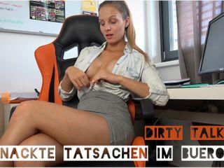 Nackte Tatsachen im Büro - Dirty Talk