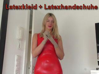 Rimming - Prostatamassage - Abwixxen I Latexkleid + Latexhandschuhe