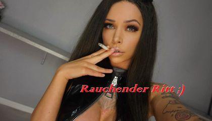 Rauchender Ritt ;)