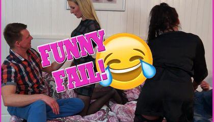 Funny Fail! Es sollte ein geiler 4er werden