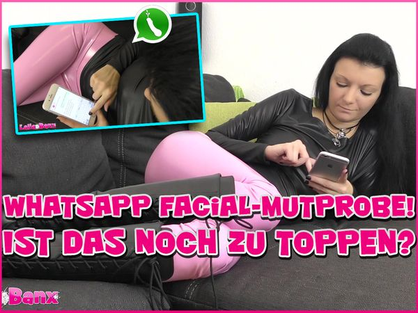 WhatsApp Facial-Dare! Can this still be topped?