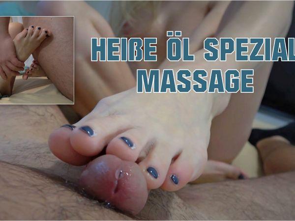 Heiße Öl Spezial Massage!