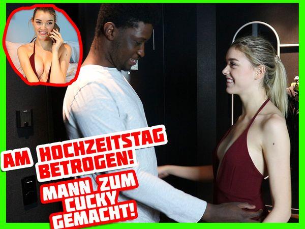 FREMDFICK AM HOCHZEITSTAG! Mann zum Cuckold gemacht | Anny Aurora