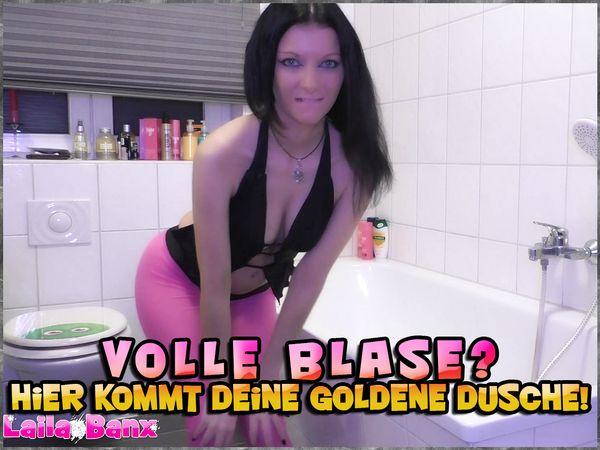 Full bladder? Here comes your golden shower!
