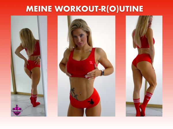 MEINE WORKOUT-R(O)UTINE