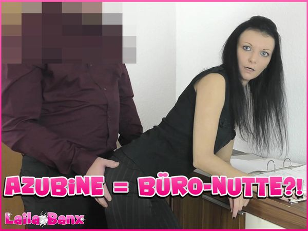 Trainee = Office-Whore?! Extorted, fondled & used as a Fuck-Piece...