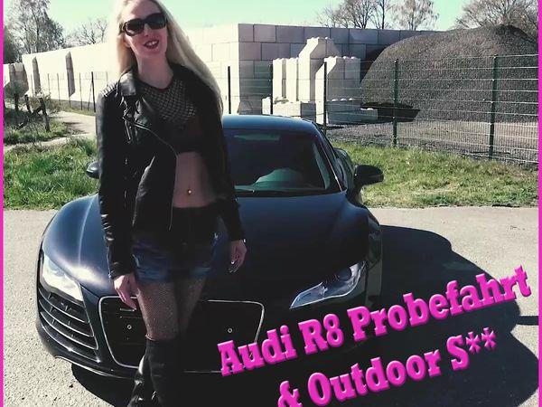 Audi R8 Probefahrt & Outdoor Sex