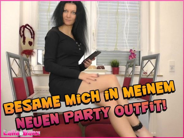 Inseminate me in my new party outfit!