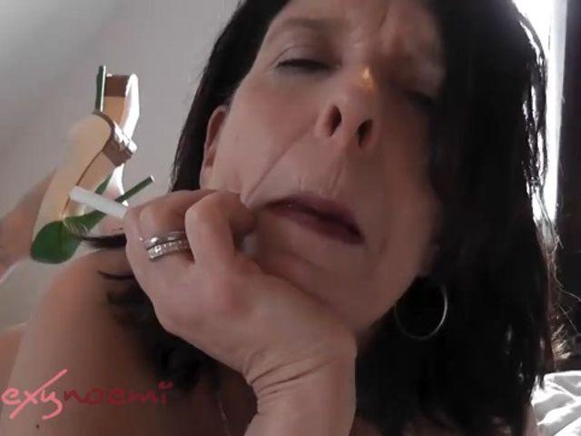 Smoking bitch…