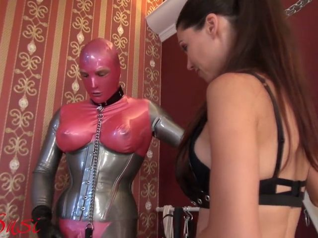 Fun with the Rubberdoll and the Bisexual Slave