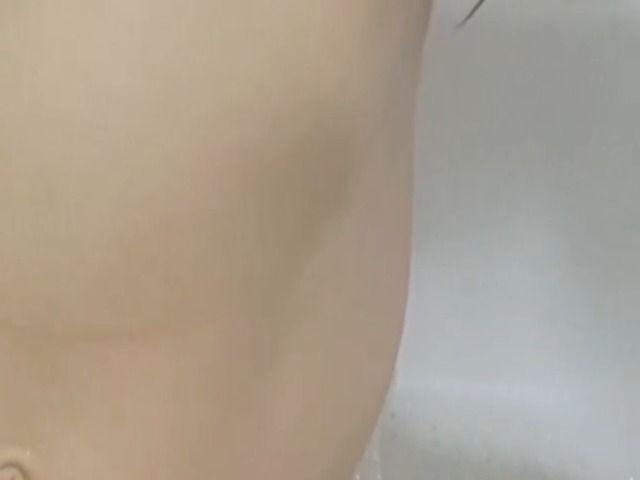 Masturbation in der Badewanne