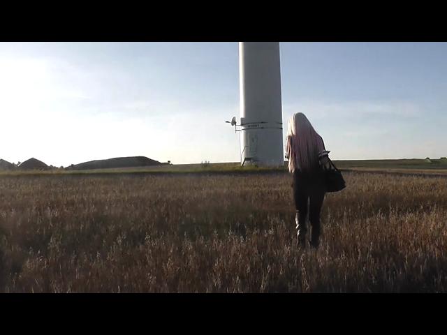Verboten am Windkraftrad gefickt!!