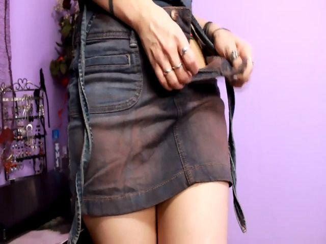 Onanie in Jeans