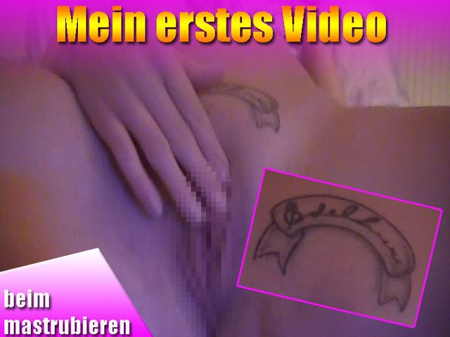Mein erstes Video - beim masturbieren