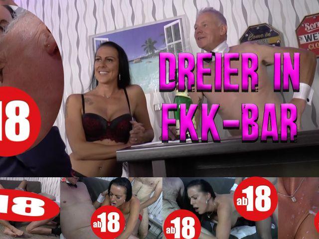 Dreier in FKK-Bar