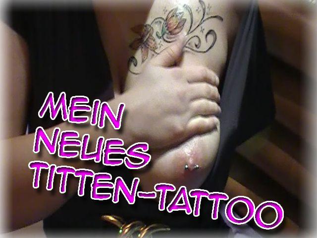 Mein neues Titten Tattoo