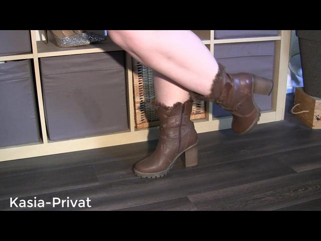 Leder Boots Spritzer