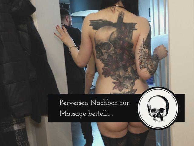 Geilen Nachbar zur Massage bestellt