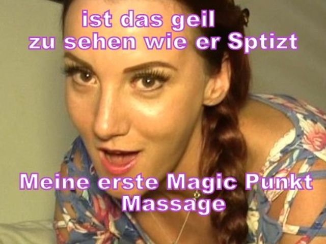 Meine erste Magic-Punkt-Massage
