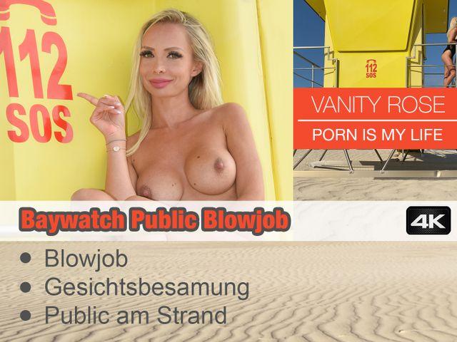 Baywatch Public Blowjob