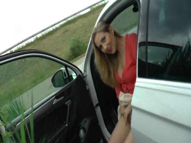 Eine schnelle Nummer am Parkplatz