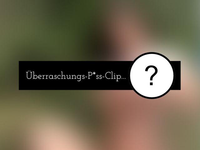 Überraschungs-Piss-Clip