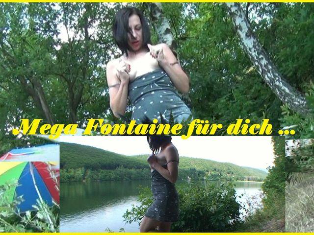 Mega Fontäne für dich.