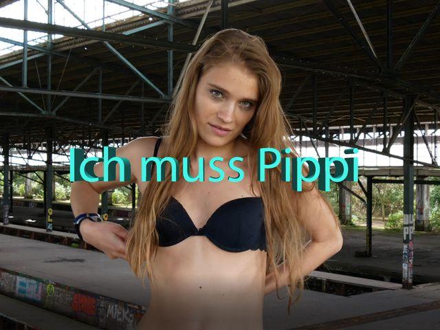 Ich muss Pippi
