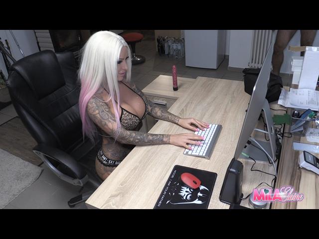 Webcam-Show mit Livefick Überraschung!