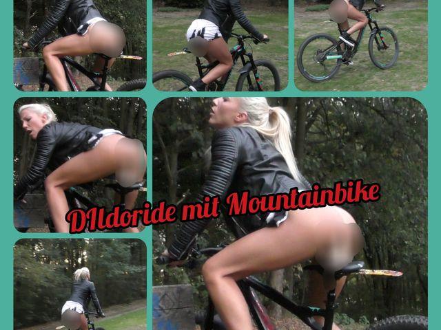 Dildoride mit Mountainbike